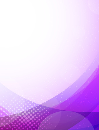 pamphlet: Abstract purple background. Bright illustration