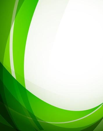 Abstracte groene achtergrond. Heldere illustratie