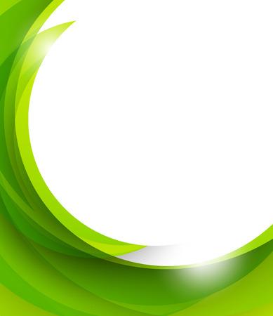 Kort groene achtergrond Stock Illustratie