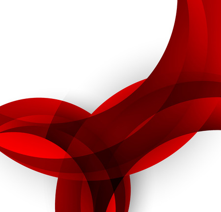 red swirl: Abstract background Illustration