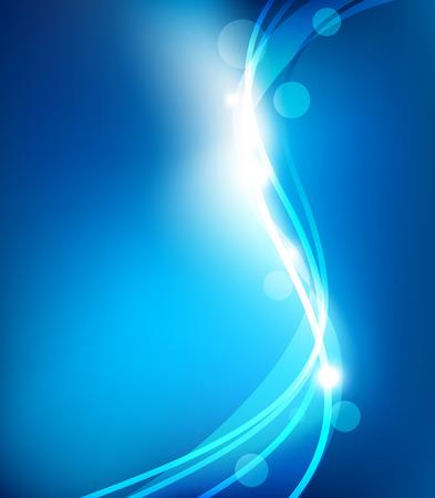 Abstracte blauwe achtergrond Stockfoto - 25623741