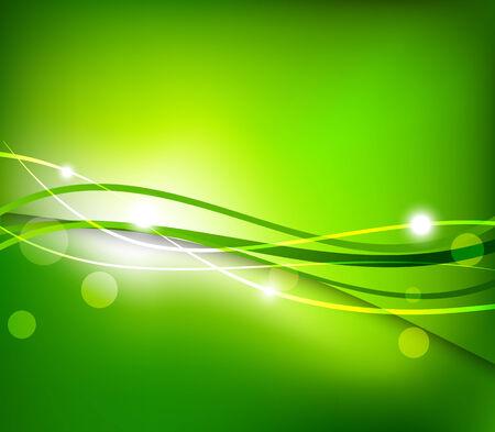 Kort groene achtergrond Vector Illustratie