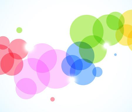 Abstracte achtergrond met cirkels Stockfoto - 25665437
