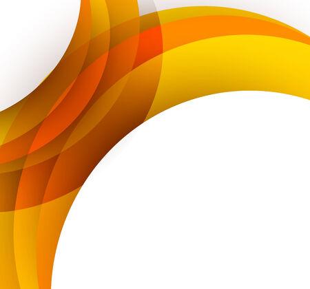 digital printing: Abstract orange background