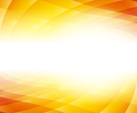 Kort oranje achtergrond Stock Illustratie