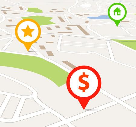 lake district: Navigation map
