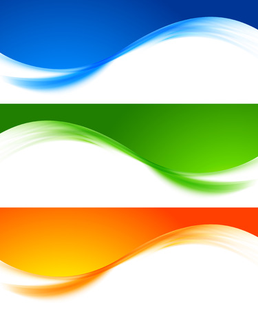Set of colorful banners Banco de Imagens - 25906596
