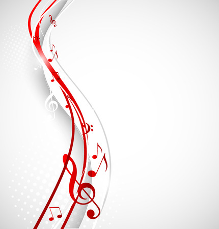 Muziek achtergrond Stock Illustratie