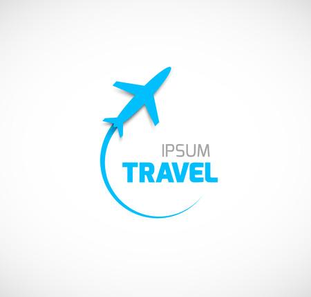airplane take off: Travel symbol