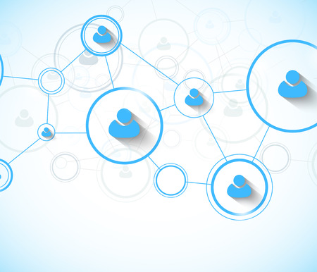 networking people: Network concept