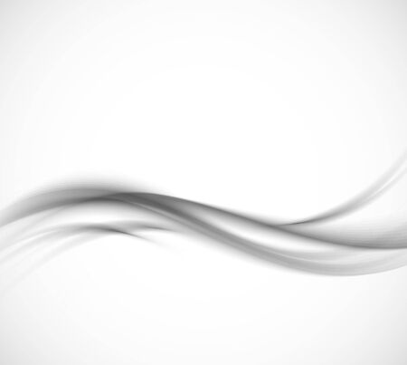 Abstracte grijze golvende achtergrond Stockfoto - 26672713