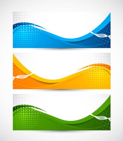 Set van banners  Stockfoto - 26820333