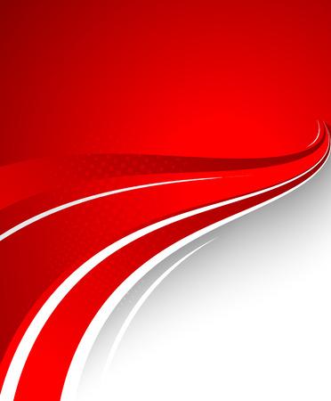 Abstracte rode achtergrond Stock Illustratie