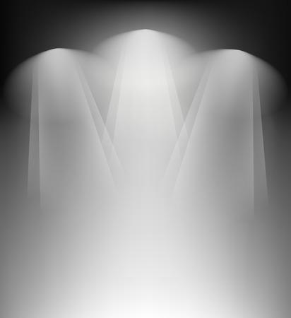 spotlight lamp: Spotlight di sfondo Vettoriali