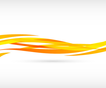 abstract swirl: Abstract orange wave background