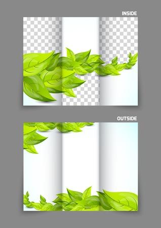 summer season: Tri fold brochure