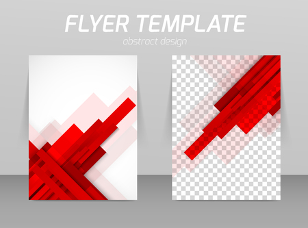 color book: Flyer template