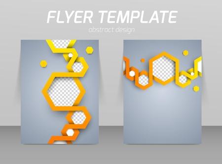 Diseño de plantilla de volante Resumen