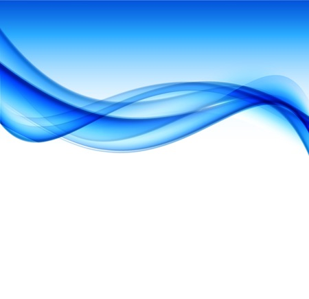 blue wave: Abstract vector background
