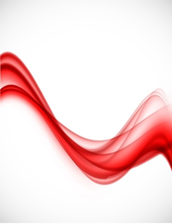red smoke: Abstract vector background
