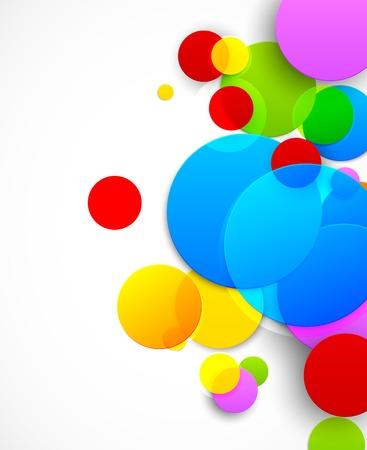 다채로운 서클 일러스트