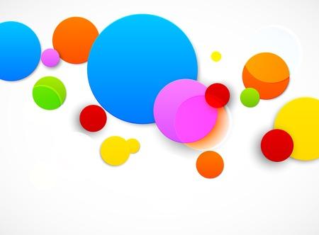 circles: Colorful circles