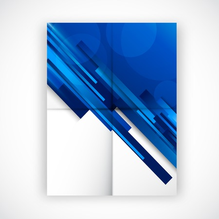 folded: Folded flyer