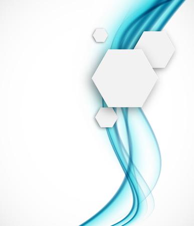 química: Fondo abstracto Vectores