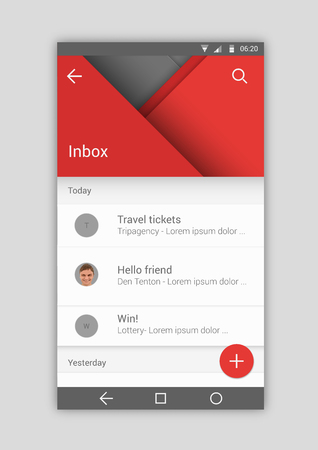User interface Illustration