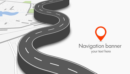 city: navegación concepto