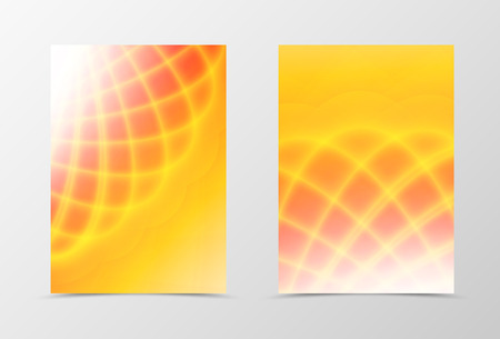 yellow shine: Bright background with orange and yellow shine effect Illustration