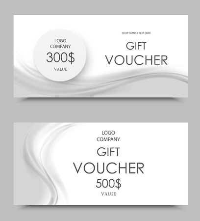 Gift Company Voucher Template On One And Three Hundred Dollars ...