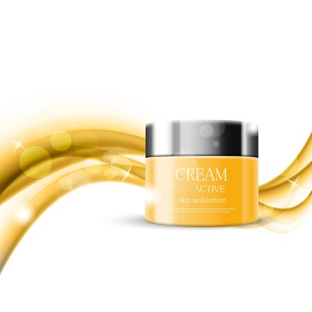 humidify: Skin moisturizer cosmetic design template