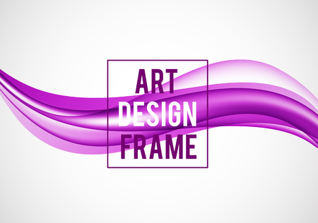 Abstract smooth design template Stock Photo