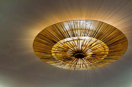 fixture: Lighting fixture on the ceiling