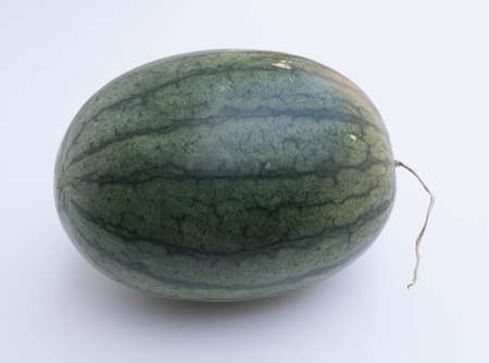 sur fond blanc: Watermelon Sur fond blanc Banque d'images