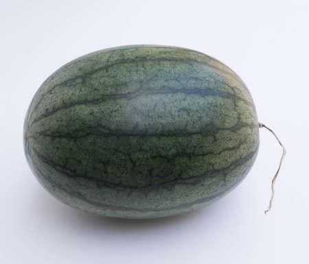 witte achtergrond: Watermeloen op witte achtergrond