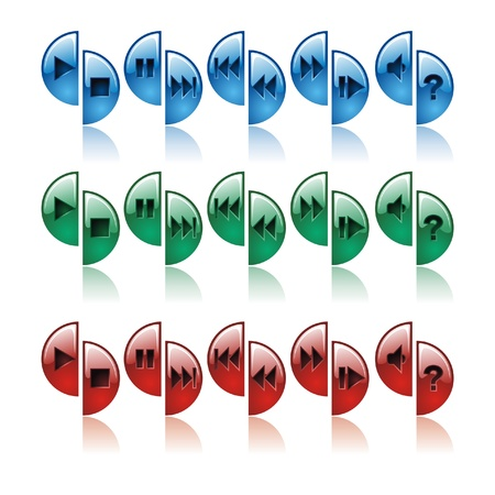 Button control, color photo