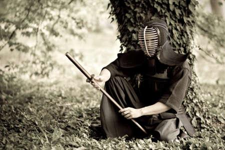 katana: Samurai vergadering onder de boom