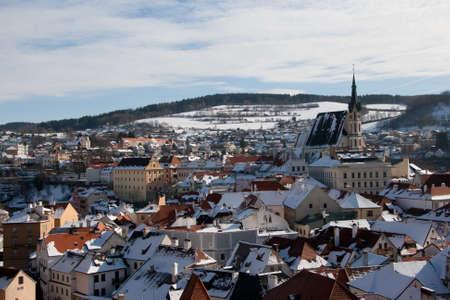 View chezh town of Krumlov