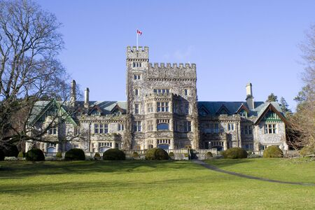 Hatley Park Castle in British Columbia