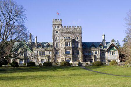 Hatley Park Castle in British Columbia