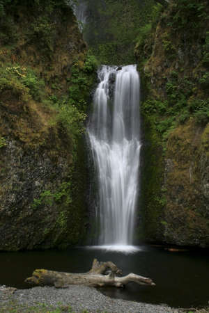 Multnomah Falls in the Columbia River Gorge in Oregon