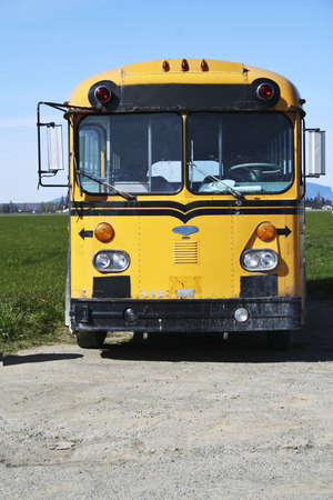 vintage school bus Stock Photo - 2985848