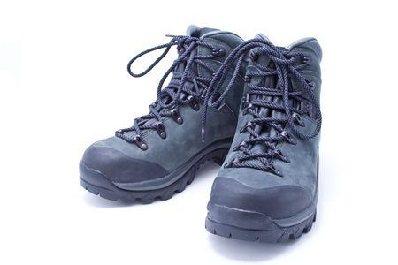 ハイキング ブーツ新品のスエードのペア
