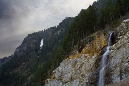 unnamed: An unnamed waterfall in Whatcom County, Washington