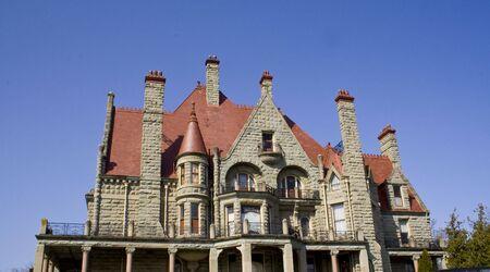 A beautiful Victorian era castle in Canada