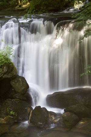 pacific northwest: Whatcom Falls in the Pacific Northwest Stock Photo
