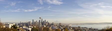Seattle skyline Stock Photo - 4437992