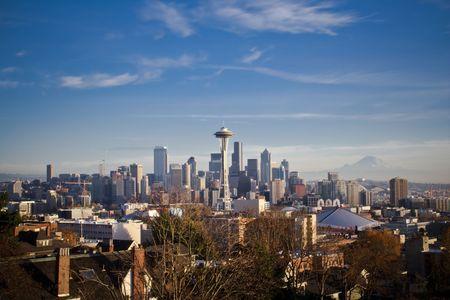 Seattle Skyline Stock Photo - 5365011
